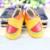 Atacado Dos Desenhos Animados Animais Sapatos de Bebê Coroa da princesa Arco Mocassins de Couro Genuíno Do Bebê Primeiros Walkers Bebe sapatos recém-nascidos