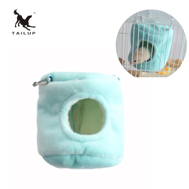 Хвост Новый хомяк гнездо для домашних животных хлопок гамак Bird Cage гамак Колыбель
