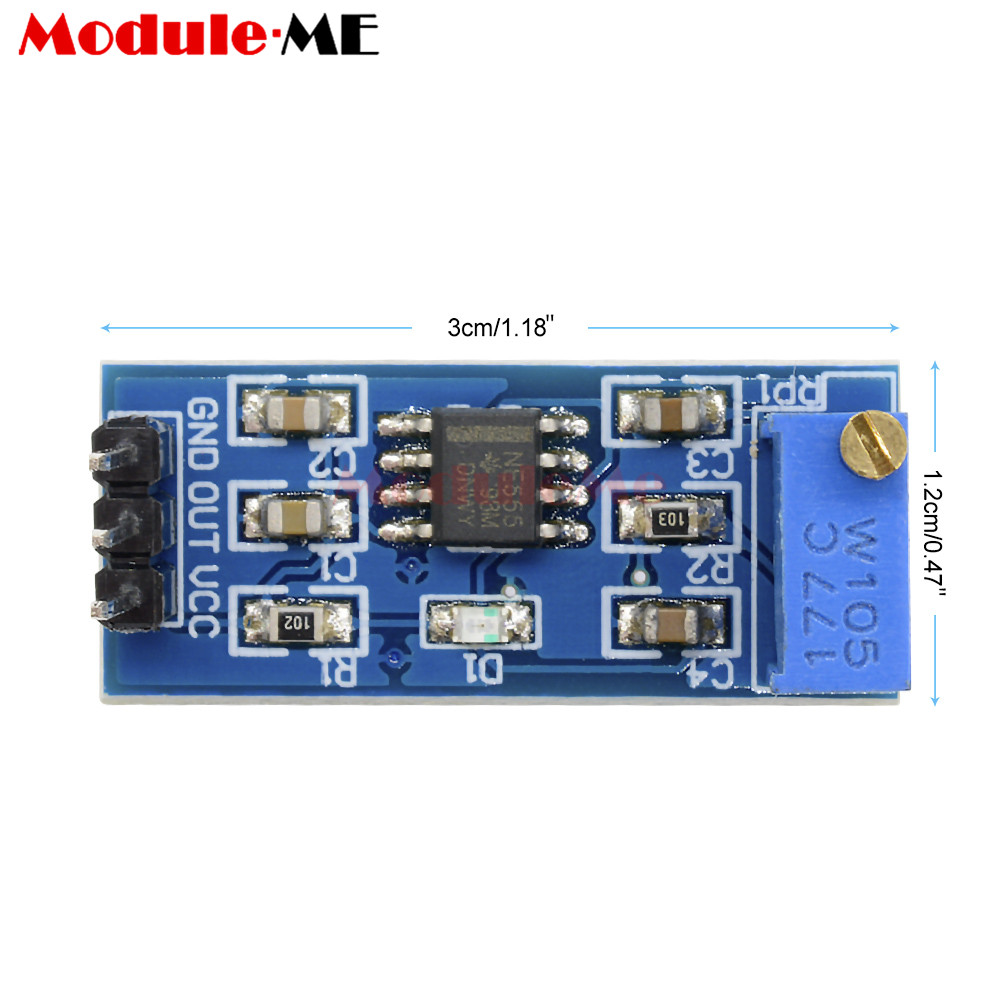 1pcs Ne555 Adjustable Frequency Pulse Generator Module Plate Load 1hz Clock With Chip On Board Cob 010282 11