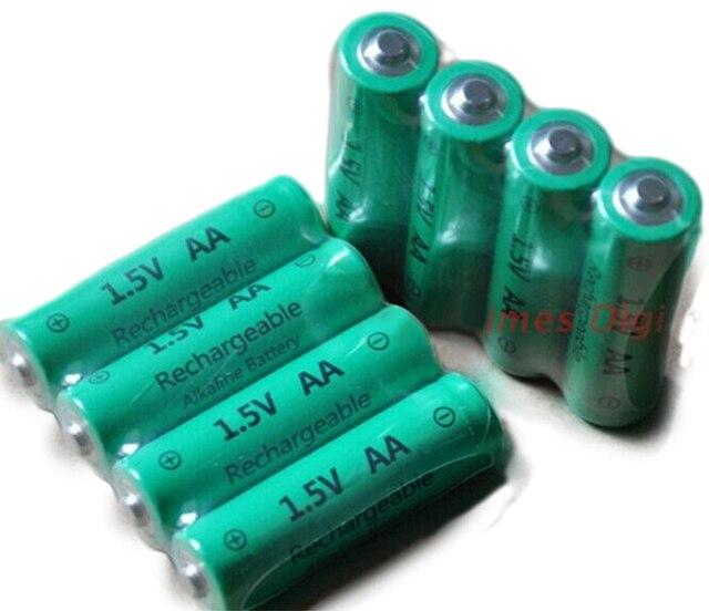 Rechargeable Alkaline Batteries >> 8pcs Lot Aa 3000mah Znmn 1 5v Aa Rechargeable Alkaline Battery Cell