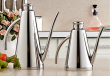 500ML Fashion Stainless Steel Oil Dispenser Uniquely Shaped High-quality Olive Oil Bottle