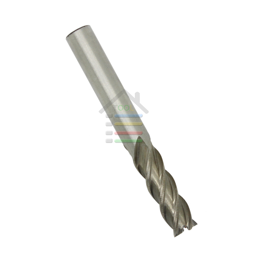 Professional 2pc 8*8mm HSS CNC Straight Shank 4 Flute Wood End Mill Milling Cutter Metal Drill Bits Cutting Tools Free Shipping