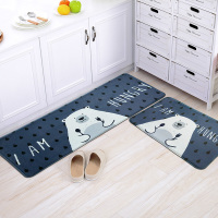 50X80/50X120CM/Set Hungry Bear Carpet Kitchen Home Entrance/Hallway Doormat Anti Slip Bathroom Carpet Balcony/Wardrobe Area Rug