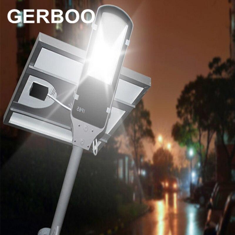 8W LED Solar lamp 12W solar Power Panel Ray Sensor/Remote/time control LED Street Light Outdoor Garden Path Spot Wall Emergency цена