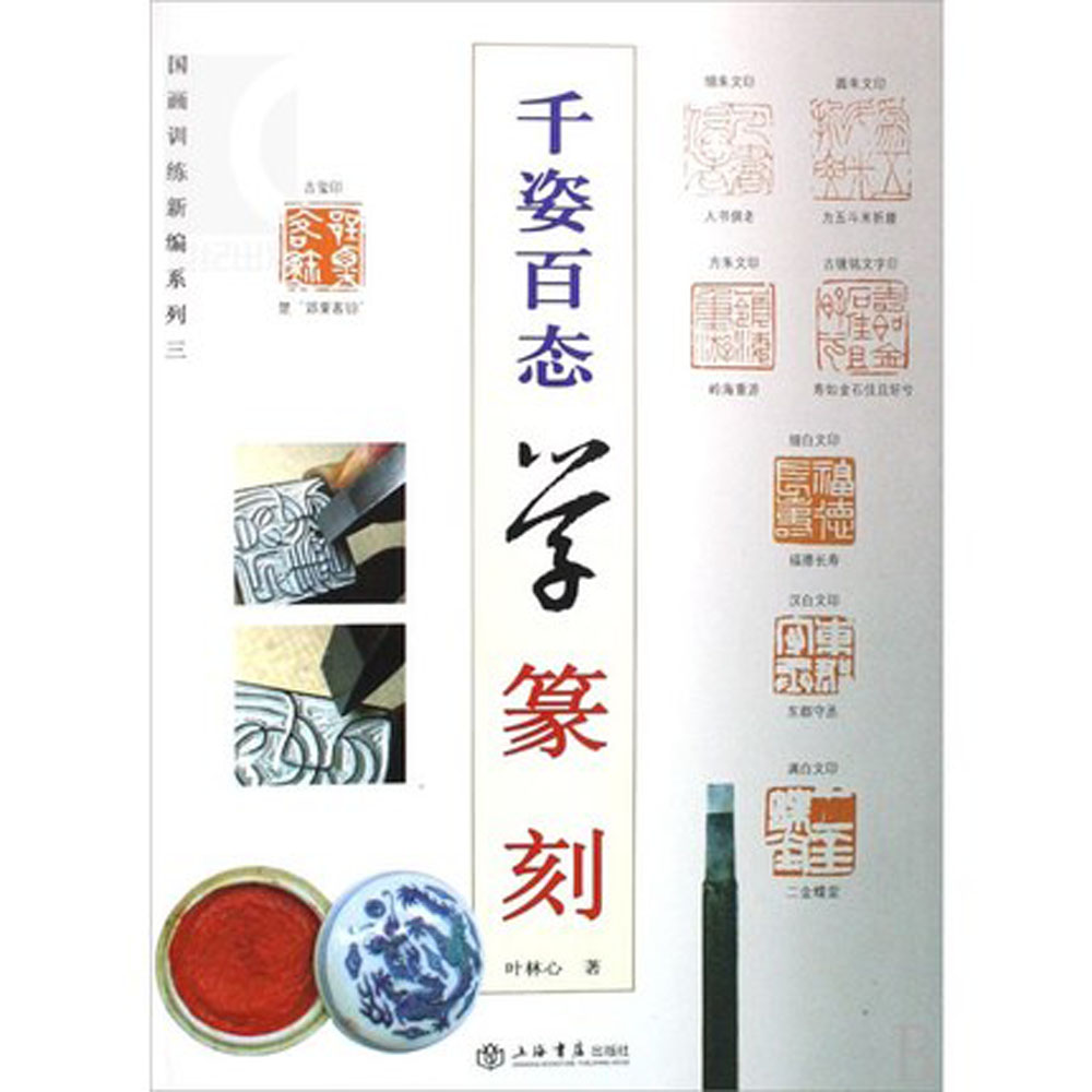 Study Seal Cutting Seal Chinese Stone Engraving Skill Book