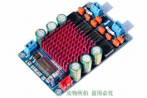 TK2050 50W+50W Class T HIFI Stereo Audio Amplifier Board dc 12v 24v car amp