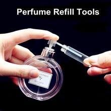 5 teile/los Parfüm Refill Tools Parfüm Diffusor Trichter Kosmetische Werkzeug Einfache Refill Pumpe für Probe Parfüm Flasche