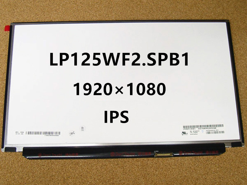 Nouveau 12.5 ''LED Portable Panneau de L'écran D'affichage à Matrice IPS 1920X1080 LP125WF2 SPB1 LP125WF2 SPB2 LP125WF2 SPB3 Pour Lenovo X240 X240S
