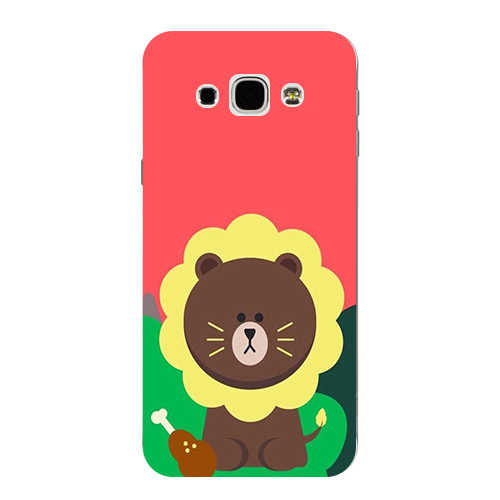Asli Cover Untuk Samsung Galaxy Inti Perdana G360 G360H LTE G361H Print Daun Warna Beruang Lembut TPU Silicone Phone Cover Coque