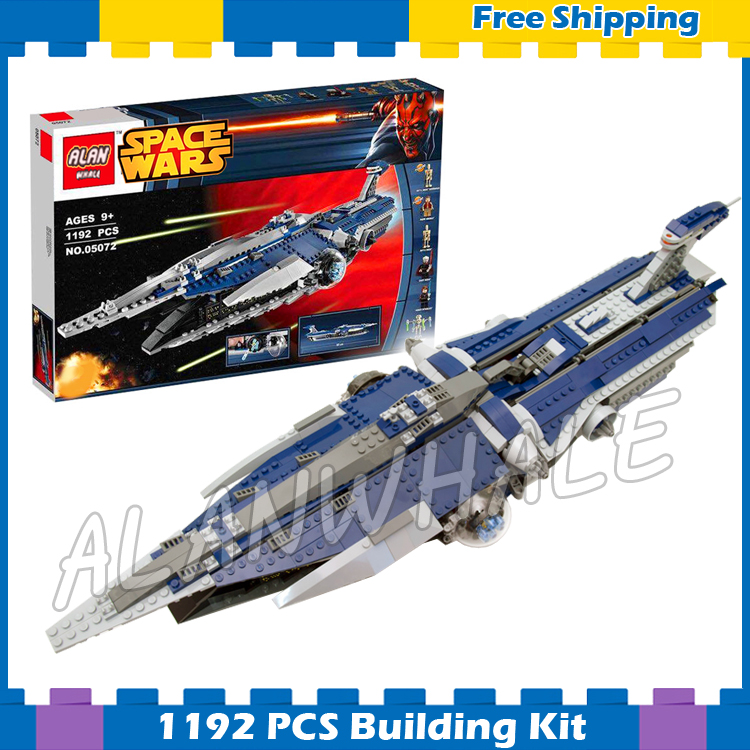 1192pcs New Space Wars The Malevolence 05072 Model Building Blocks Assemble Gifts Sets Boys Movie Games Compatible With Lego