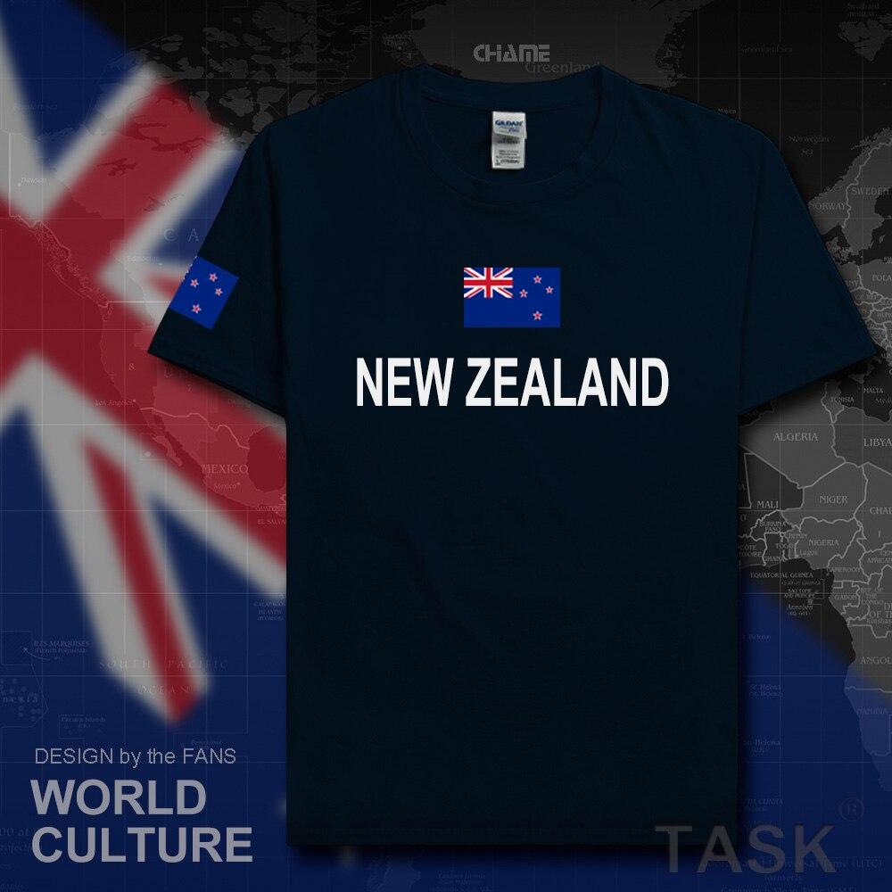 Design t shirt new zealand - New Zealand Mens T Shirt Fashion 2017 Jersey Zealander Nations Cotton T Shirt Meeting Fitness Brand Clothing Tee Country Flag Nz