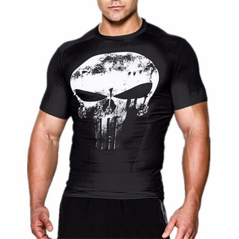 New men active camouflage T-shirt 1