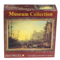 2000 Pcs Set Puzzles Famous Painting Of World Oil Painting Adult Kids DIY Jigsaw Puzzle Creativity