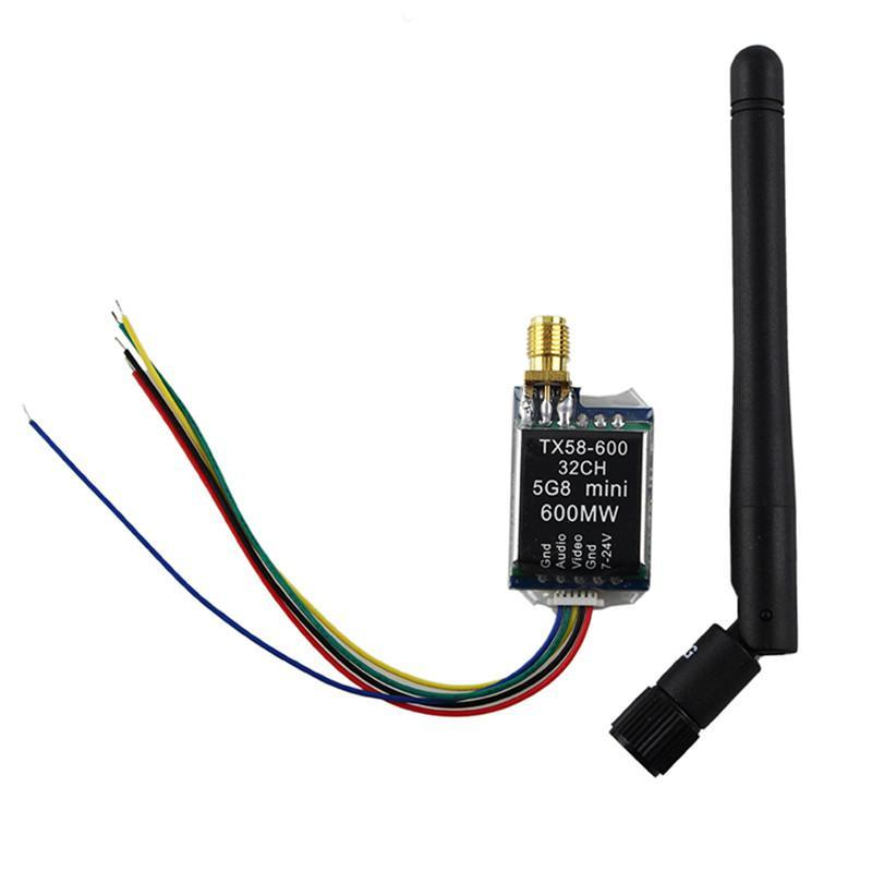 ImmersionRC TX 5G8 5.8Ghz Audio Video Transmitter 600mW Fat Shark Compatible new arrival immersionrc raceband 5 8ghz 600mw av transmitter module for fatshark