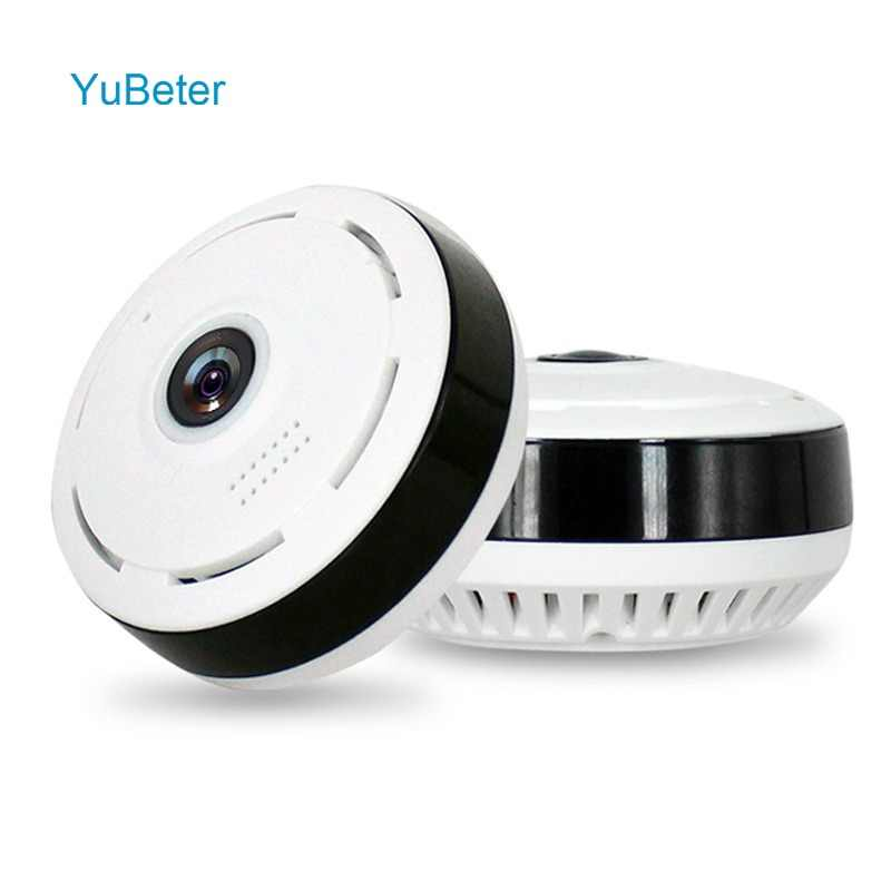 YuBeter 360 home security Surveillance panoramic camera wifi IP wireless CCTV camcorder 2.0MP 1080P Two Way Audio Night Version