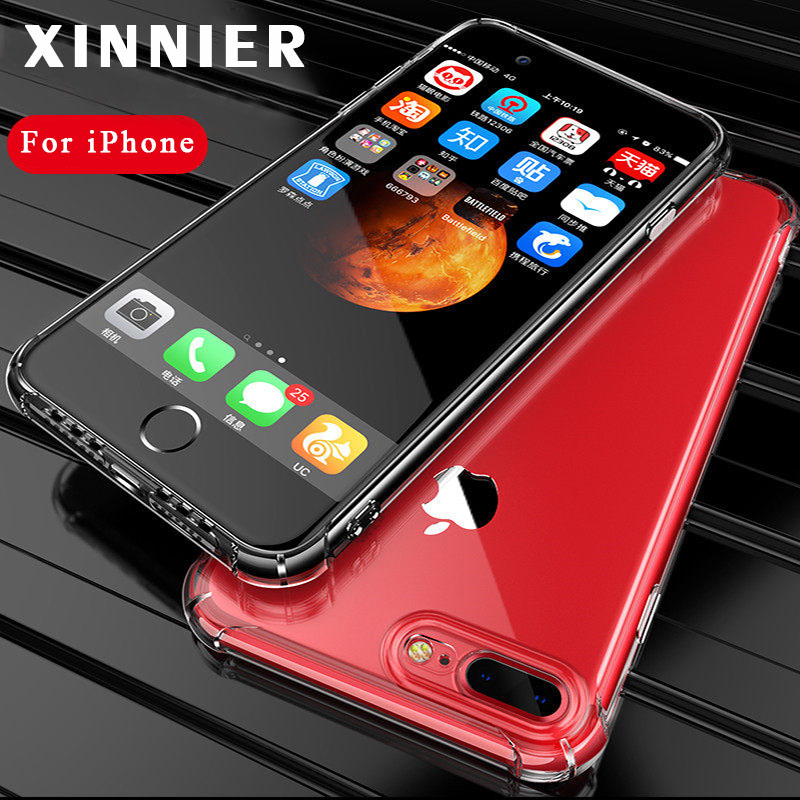 XINNIER Soft Case for iPhone X 6 s 6S 7 8 Plus 6Plus 6SPlus 7Plus 8Plus 5 5S SE Shockpro ...