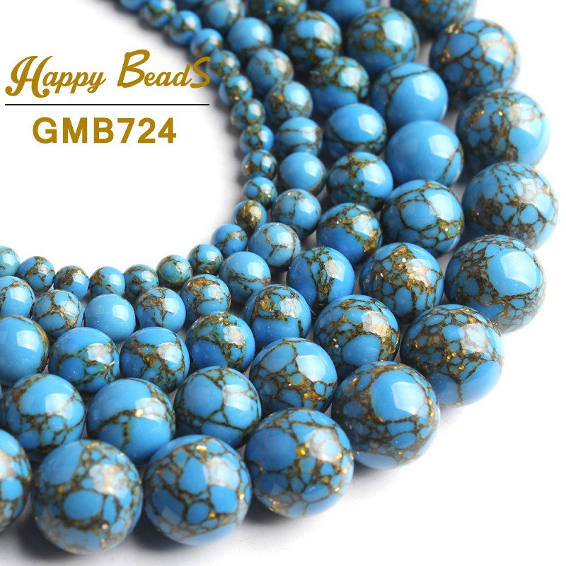 """15/"""" Natural Mookaite Gemstone Round Loose Spacer Beads Finding 4//6//8//10mm À faire soi-même"""