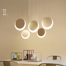 цена NEO Gleam Hanging Deco DIY Modern Led Pendant Lights For Dining Room Kitchen Room Bar suspension luminaire suspendu Pendant Lamp в интернет-магазинах