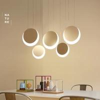 NEO Gleam Hanging Deco DIY Modern Led Pendant Lights For Dining Room Kitchen Room Bar suspension luminaire suspendu Pendant Lamp
