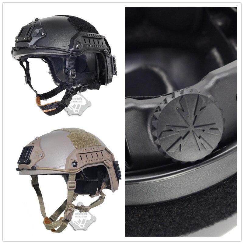 2019 NOUVEAU FMA maritime Tactique Casque ABS DE/BK/FG capacete airsoft Pour Airsoft Paintball TB815/814 /816 vélo casque
