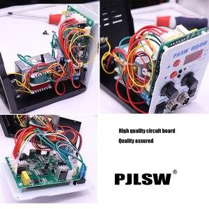 Image 4 - PJLSW 750W 2 in 1 SMD Equipment Rework Station Eruntop 8586 8586+ Hot Air Gun + Solder Iron + Heating Element