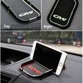 Estilo do carro anti-slip mat suporte do telefone adesivos para honda crv cr-v cidade Acessórios 2016 2010 2011 2013 2014 2015 XR-V Vezel XRV