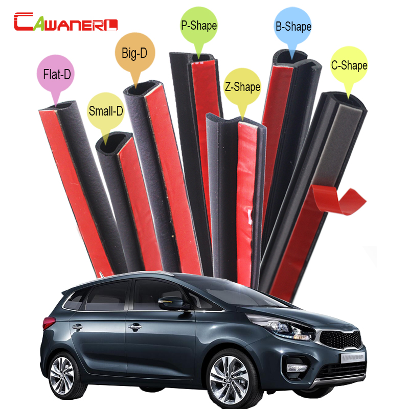 Cawanerl Car Sealing Seal Strip Kit Seal Trim Rubber Weatherstrip For Kia Picanto Rondo Venga Forte Koup Carens Cadenza Opirus 2 din car radio stereo fascia panel frame dvd dash installation kit for kia cerato koup td forte koup td 2009 2012