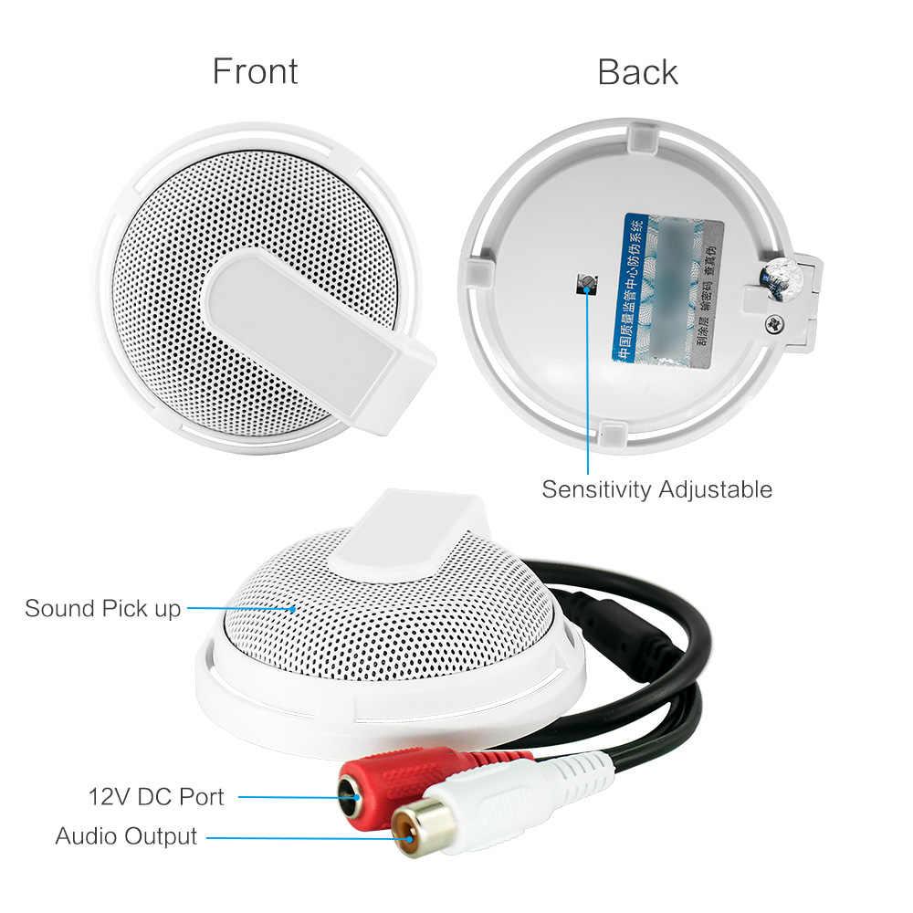 Autoeye Мини CCTV видеонаблюдения Аудио Пикап ip-камера микрофон DVR звукосниматель