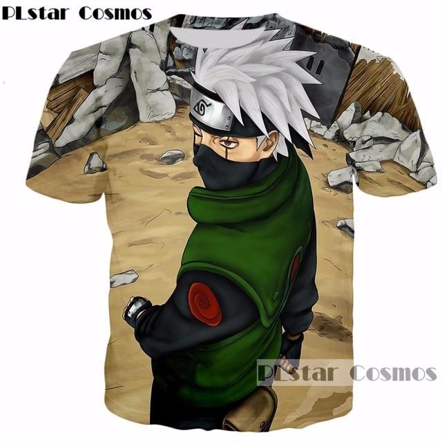 Naruto Hipster 3D t shirt Men Women Harajuku Tee Shirt