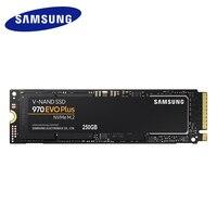 Samsung 970 EVO Plus 250 gb M.2 SSD NVMe M.2 2280 Внутренний твердотельный жесткий диск SSD PCIe 3,0x4, NVMe 1,3 Новый 250 GB Тетрадь SSD
