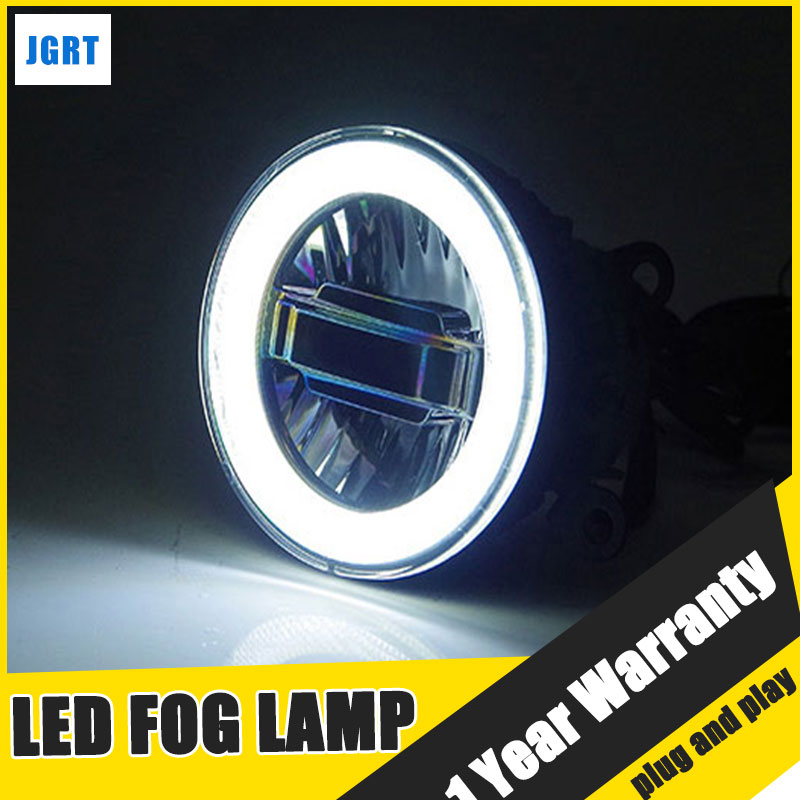 JGRT Car Styling LED Fog Lamp 2009-2015 for Ford Ranger LED DRL Daytime Running Light High Low Beam Automobile Accessories yeats 1400lm 24w led fog lamp high beam low beam 560lm drl case for toyota highlander 2009 11 2014 automatic light sensitive