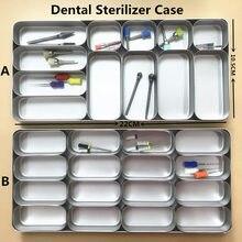 1 шт. стоматологический бур H K файл блок гутта перча точки держатель стерилизатор чехол дезинфекция эндо коробка 2 модели