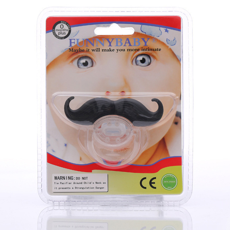 1 pc Top Silicone Funny Nipple Dummy Baby Soother Joke Prank Toddler Pacy Orthodontic Nipples Teether Baby Pacifier Care