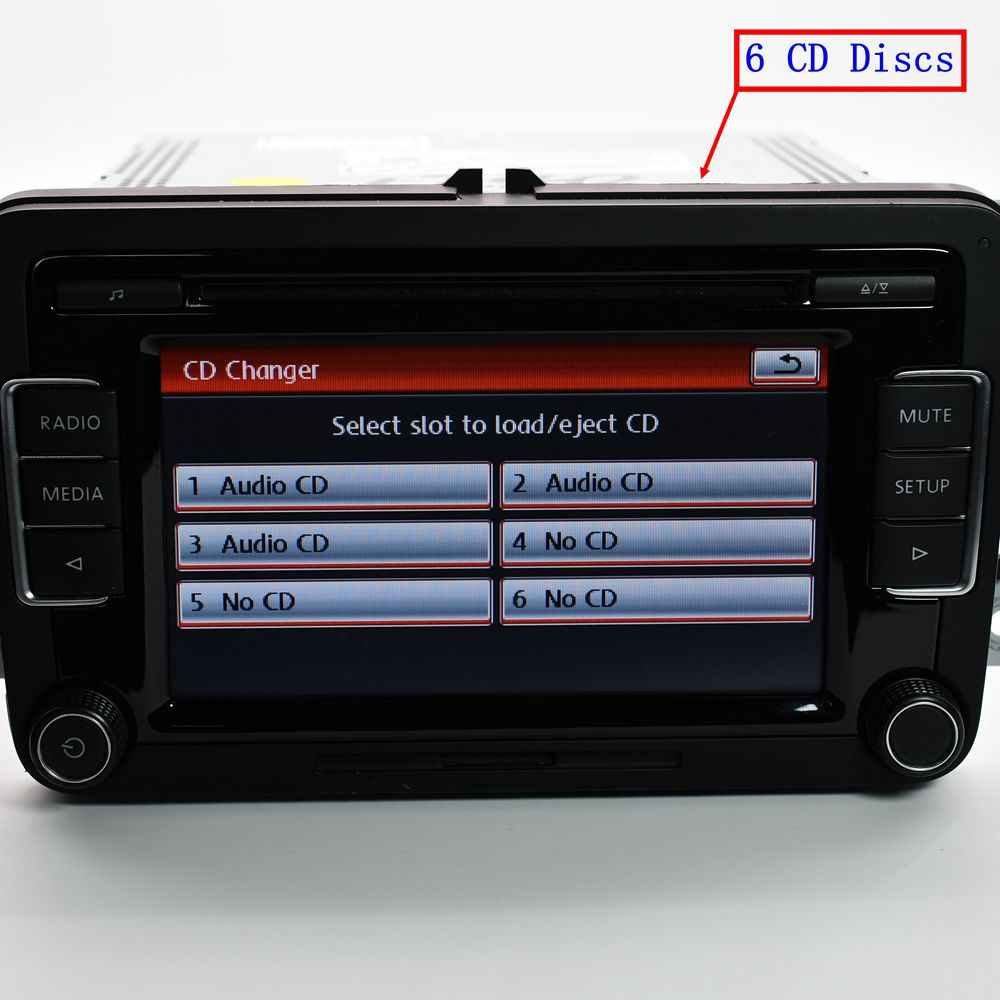 Detail Feedback Questions about Original Auto Radio RCD510