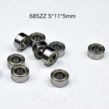 5--11--5 Bearing Sealed-Miniature-Bearing ABEC-5 Chrome-Steel 685ZZ Mm Mm
