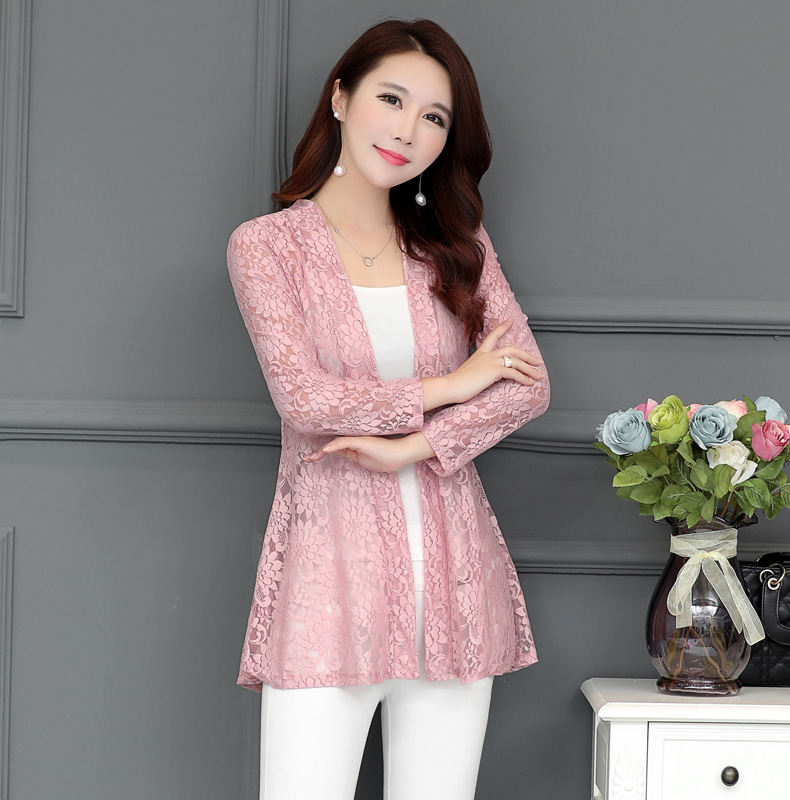 33931d02586a Detail Feedback Questions about Long Women Lace Coat Cardigan Summer ...