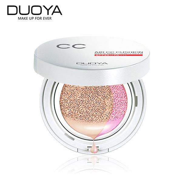 Natural 4 Colores Cojín de Aire CC Crema Base de Maquillaje Corrector Hidratante Blanqueamiento Belleza de Las Mujeres de Corea Cosméticos CC Cremas