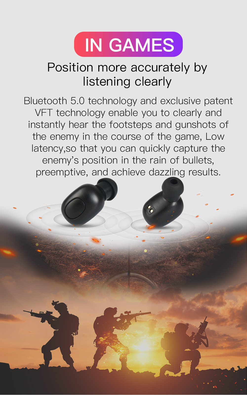Bluedio T-elf Mini TWS Sports Earbuds And Bluetooth Earphone With Charging Box 2