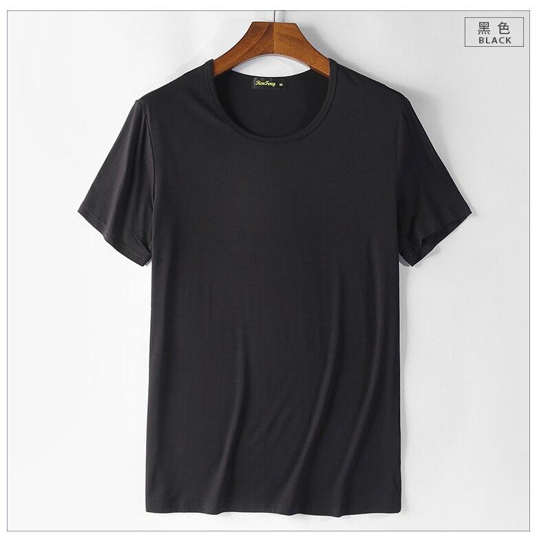 2018 Summer New Heavy Streetwear Solid Cotton Mens T Shirts Depeche Mode Style Brand Tee Shirt Homme Slim camiseta (6)