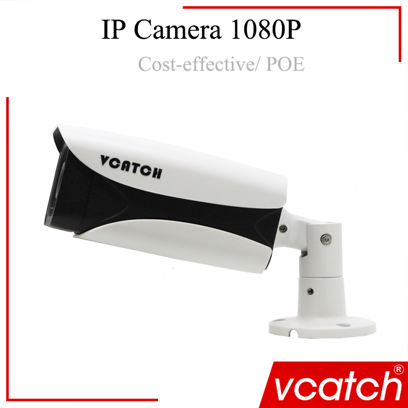 Vcatch New CCTV Outdoor Camera Support POE /Audio/ONVIF/hikvision/Aahua NVR CCTV POE Camera P2P 1080P IP Camera hikvision ds 2de7230iw ae english version 2mp 1080p ip camera ptz camera 4 3mm 129mm 30x zoom support ezviz ip66 outdoor poe
