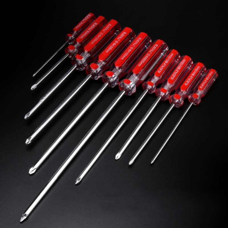 Red Color CRV Cross Magnetic Screwdriver