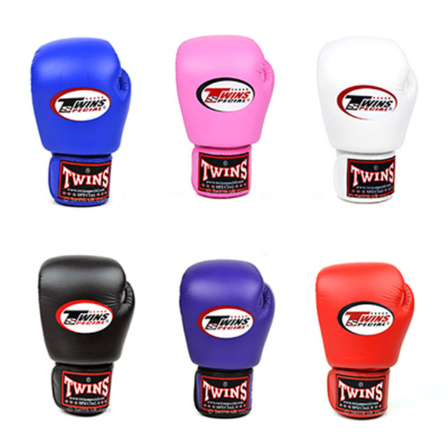 341027142 8 10 12 14 oz Twins Muay Thai Kick Boxing Gloves MMA Training Fighting  Gloves luva de boxe twins muay thai guantes de boxeo