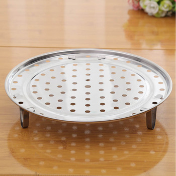1 PC Pot Steaming Tray Stand  Cookware Steamer Rack Steamer Shelf Stainless Steel Kitchen Accessories Durable  Multifunction 2