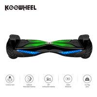 Hoverboards koowheel 6.5 بوصة الكهربائية مع بلوتوث المتحدث 3000 مللي أمبير سامسونج البطارية الذاتي موازنة سكوتر للبالغين والأطفال k3
