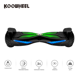 Koowheel 6.5 inch Electric Hoverboards with Bluetooth Speaker 3000mAh Samsung Battery Self Balancing Scooter for Adult Kids K3