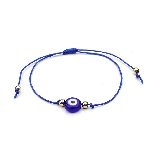 bracelet fil mauvais oeil