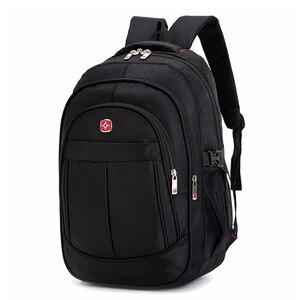 Image 1 - Mochila masculina sacos de viagem masculino multifuncional 15.6 polegada portátil à prova doxford água oxford computador mochilas para adolescente menino