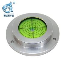 Round Spirit Levels Crane horizontal bubble Level Measuring Instrument Size 100*75*20mm 1 order цена и фото