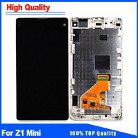 4.3 Replacement Parts For Sony Xperia Z1 Compact D5503 M51W LCD Display Z1 Mini Touch Screen Digitizer Full Assembly