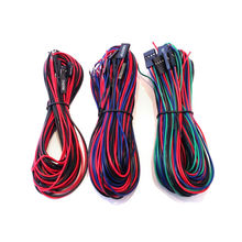 A Funssor cables kit For RAMPS 1.4 3D Printer Controller Board Wiring Kit 20 Wires fo RepRap Prusa RAMPS 1.4 board cable kit/set